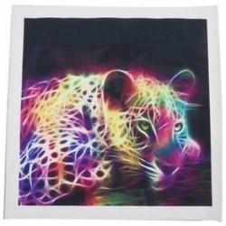 Modern absztrakt ruhával nyomtatott festmény dekoratív fali dekorációval, nincs keret Pa F4R1