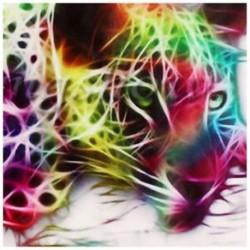 2X (Modern absztrakt ruhával nyomtatott festmény, dekoratív fali dekoráció, nincs keret Y4V6
