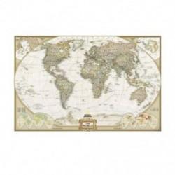 9X (nosztalgikus kézműves papír, világtérkép poszter, irodai kellékek, hálószoba B H4M5