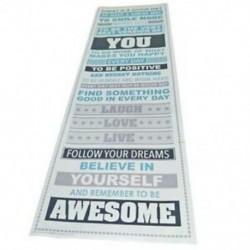 8X (Légy félelmetes, motiváló motivációs boldogság idézetek Dekoratív O7Y3 poszter