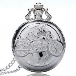 1X (Nagy finomláncú ezüst zsebóra Stílusos és kifinomult személyiség m J9Z5