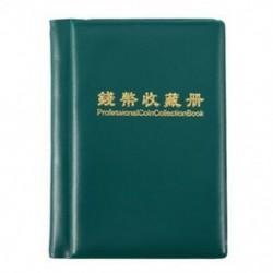 1X (Tartós gyűjtemény könyv a darabok hordozható tárolóedényének N2T4 érmealbumához