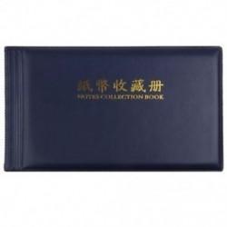 Bankjegypénzgyűjtők Album Pocket Storage 30 oldal Royal blue L9N6 K7T2