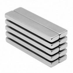 Erőteljes neodímium rúdmágnesek, ritkaföldfémek neodímium mágnese, N45, Inc X1N2