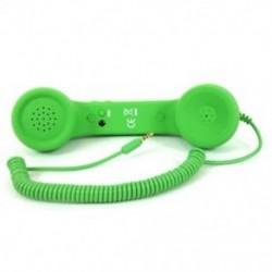 1X (Retro hallgatók kézibeszélő-hangszóró kézibeszélő mikrofon mobiltelefonokhoz Tablet PC O1Q2