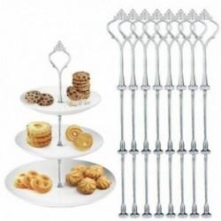 4X (8 készlet közepes lyukú evőeszközök többrétegű, 2–3 emeletű esküvői caF6K5