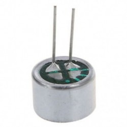 10 PCS 9,7 mm x 7 mm 2 tűs MIC Capsule Electret kondenzátor mini telefon C1T9