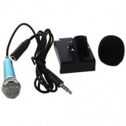 Mini kézimikrofon hangfelvételhez, internetes csevegés okostelefonon, jegyzet N5O2