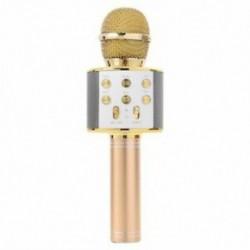 1X (kézi Bluetooth vezeték nélküli karaoke mikrofon telefonlejátszó MIC hangszóró I5E9
