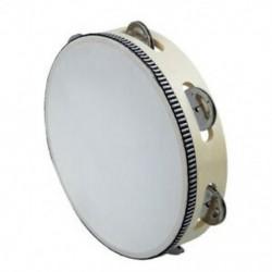 1X (8 &quot -es zenei tamburin tamborin dob dob kerek ütős ajándék a KTV Party H1K7-hez