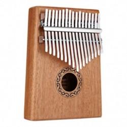 17 kulcsok Kalimba hüvelykujj zongora ujjak zongora játékok hangjelző kalapáccsal és Y9D2