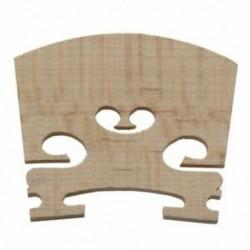 Csere 1/4 méretű hegedű alkatrészek Húros központ fahíd V4N6 V1R1 X0L3