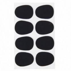 8db alt / tenor szaxofon szaxofon szájdarab javítások párnák fekete --- 0,3m D8O1