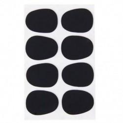 BT 8db Alto / Tenor szaxofon szaxofon szájdarab javítások Pad párnák fekete --- 0.8mm