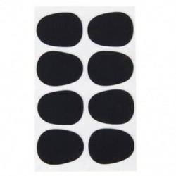 2X (8db alt / tenor szaxofon szaxofon szájdarab javítások párnák fekete --- 0 D7D4