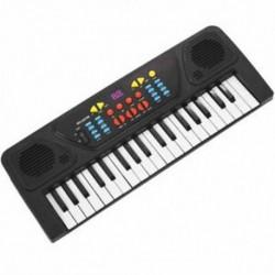 Gyerekek Gyerekek 37 Kulcsos elektronikus billentyűzet zongora zenei játékrekord Microphon B1I8