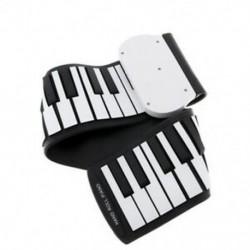 37 kulcsos szilikon rugalmas, kézzel tekercselt zongora puha hordozható elektronikus Keyboa W9T8