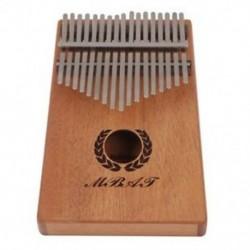 MMBAT 17 Kulim Kalimba hüvelykujj mahagóni zseb hüvelykujj zongora tárolással B I2N5