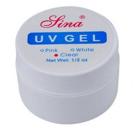 1X (SINA Nail Art UV Builder Gel tippek Ragasztókészlet Art Art Extension ManikűrďĽˆTr Z9Q2