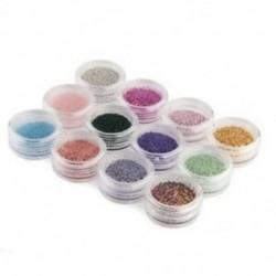 Sok 12 Perler mikrogömb, kaviár köröm művészet akril köröm manikűr D3R8 N0P1