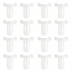 5X (50 db Üres körömlakk UV gél megjelenítő gyűrűk Ns körömlakk gyűrűs stílusa N Q1T2