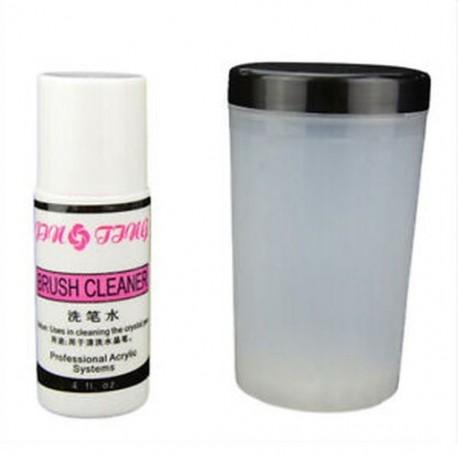 2X (Archelic UV tollkefetisztító kefetartó üveg köröm Art Ti X0E7