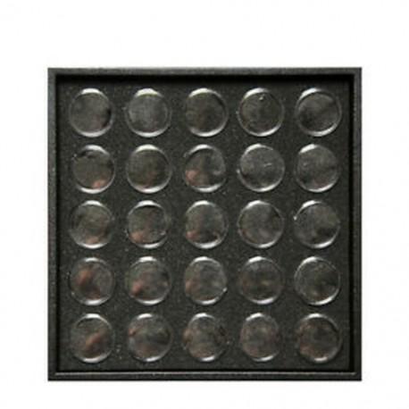 4X (Üres 25 köröm körömpor drágakő strasszos tárolóedénybe BoU3Y4