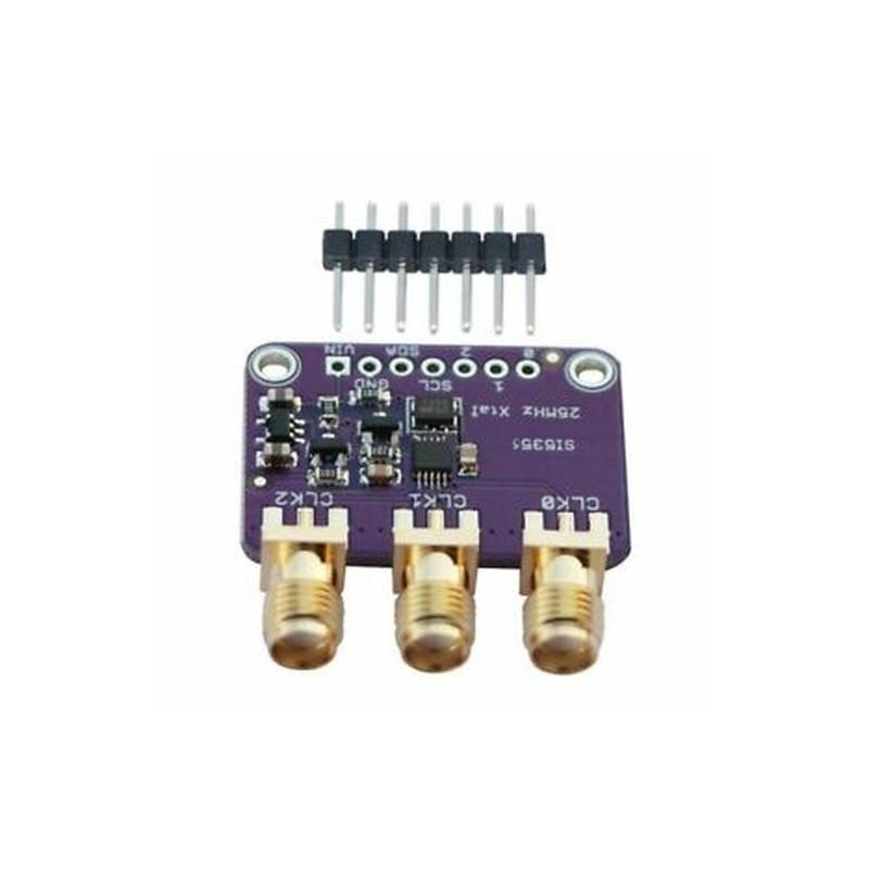 Si5351A I2C 25MHz óragenerátor-kitörő tábla 8KHz-160MHz