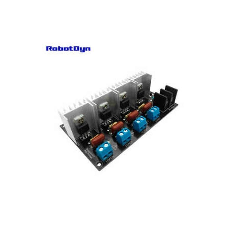 8X (RobotDyn Ac fényszabályozó modul Pwm vezérléshez, 4