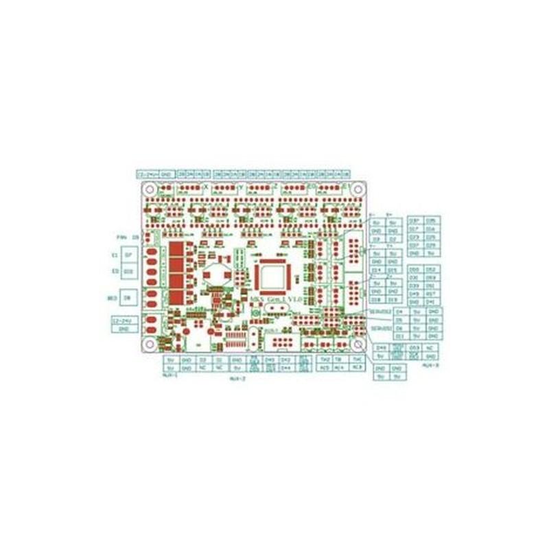 8X (Alaplap Makerbase Mks Gen L 5 db Drv A4988