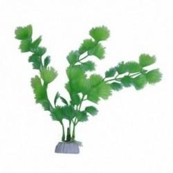 Mesterséges növényi zöld műanyag akvárium dekoráció J1N6