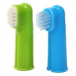 Orális fogkefe készlet   masszázs ujjkefe ápoló fogkrém kutya kölyökkutya G7Y1