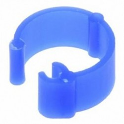 100 db vegyes színű galamb láb műanyag lábgyűrűk szalag belső átmérője 8 mm Q6P7