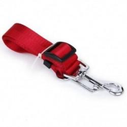 1X (biztonsági öv visszatartó póráz állítható kutya kiegészítő járműhöz (piros) T4A7)