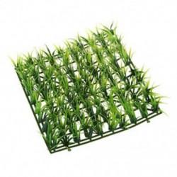 Zöld tavaszi gyep műanyag fűszőnyeg a Z1X3 akváriumi akváriumi dekorációhoz