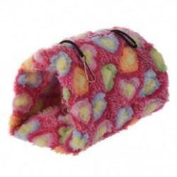 Papagáj madár budgie bolyhos meleg fészer hálószoba függő kunyhó (rózsaszín) S E3Z8