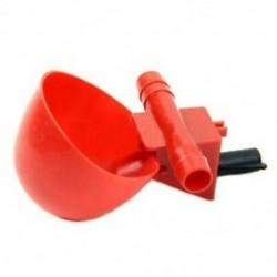 2X (5 db baromfi vízfogyasztó csészék - csirke tyúk műanyag automatikus ivó L2D1