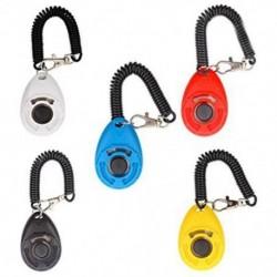 1X (5 darabos kutya kiképző Clicker Deluxe modell karkötővel Új frissítés Ver U6P1