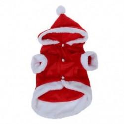 1X (karácsony jelmez party Santa angyal szárnyas kutya ruhák kölyökkutya felsőruházat R1V5