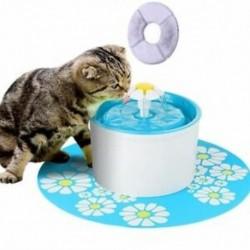 Kisállat víz-szökőkutak, Macska kutya víz-szökőkút Kisállat-víz adagoló, automatikus He D7L2