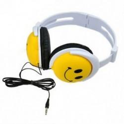 Mosolygó arcú fiúk lányok gyerek fülhallgató fülhallgató számítógép MP3 MP4 P P9E7