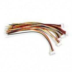 2X (10 db 3S JST-XH csatlakozó adaptercsatlakozó 4 tűs szervohosszabbító kábel 15CM E3H1)
