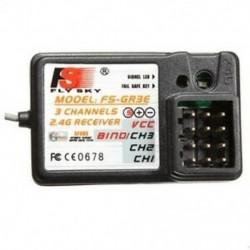 FlySky FS-GR3E 3CH 2.4GHz vevő GT2 GT3 GT3B GT3C GR3C RC autócsónak N7T9 G5X8