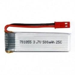 3X (1 db 3,7 V 500Mah 25C Lipo akkumulátor, 701855 modell, Jst csatlakozóval az FPV Rc P2J8 számára)