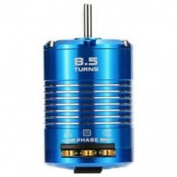 Nagy hatékonyságú 540 érzékelő, kefe nélküli motor 1/10 RC autós kékhez, 8.5T 410 E9B1
