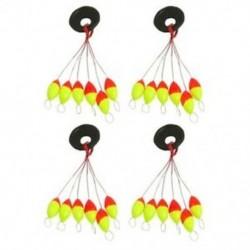 4 db sárga piros műanyag 6 az 1-ben horgászbot dugó Sz 3 F2A7
