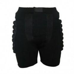 Méret XL Fekete Védőfelszerelés Hip Padded Shorts Korcsolyázás Snowboard Pr I4B8