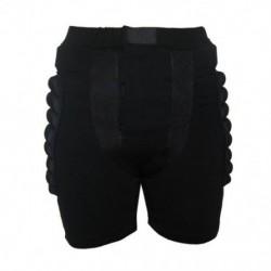 2X (L méretű fekete védőfelszerelés, csípőre párnázott rövidnadrág, korcsolyázás, snowboard W4X3.)