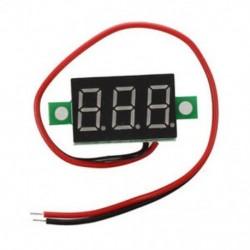 1X (LED Mini Voltmeter digitális feszültség kijelző panel mérő 4,7-32 V DC M5K2)