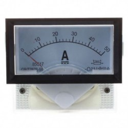 1X (85C17 műszer DC 0-50A AMP analóg panelmérő ampermérő O2Q6)